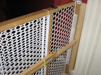 Baby Gate for Gooseproofing your home
