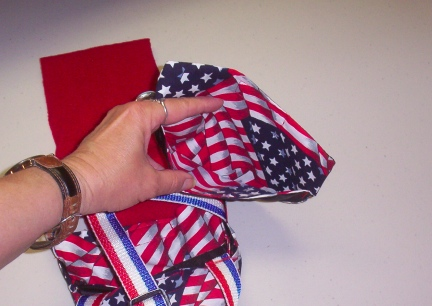 Red, White & Blue Goose Diaper