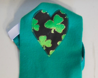 St. Pat's with Heart Goose Diaper Holder 3